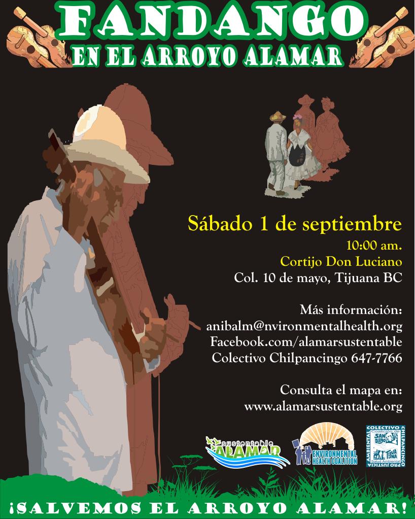 Fandango en el Arroyo Alamar: sábado 1 de septiembre