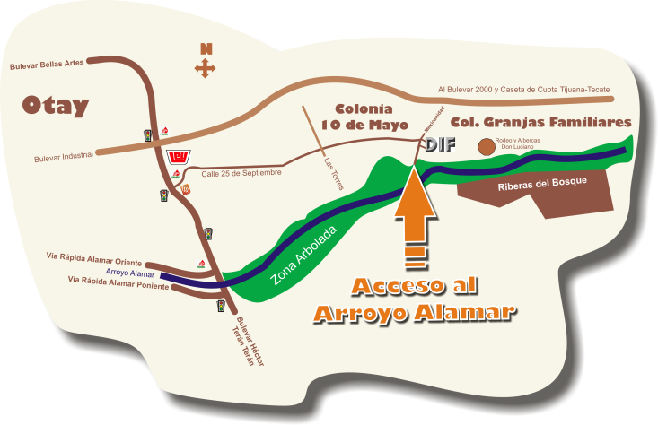 nuevo mapa alamar