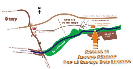 mapa cortijo alamar_chico